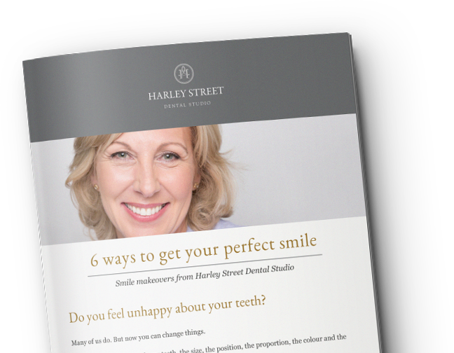 Cosmetic bonding at your Harley Street dentist